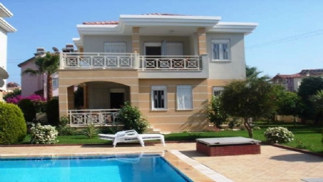 Fully furnished villa in Side